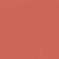 Southwestern Clay paint color DE5124 #CC6758