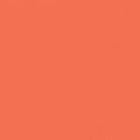 Often Orange paint color DE5132 #FF714E