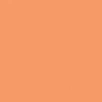 Fresh Cantaloupe paint color DE5159 #FF9C68