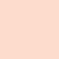 Peaceful Peach paint color DE5176 #FFDDCD
