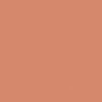 Bronzed Orange paint color DE5179 #D78A6C