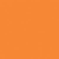 Bright Mango paint color DE5195 #FF8830