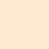 Delightful Peach paint color DE5239 #FFEBD1