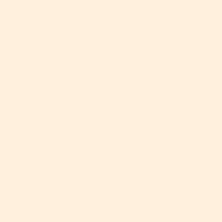 Delicate Seashell paint color DE5245 #FFEFDD