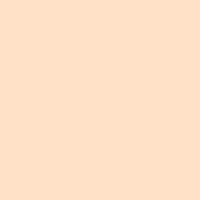 Wild Maple paint color DE5246 #FFE2C7