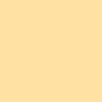 Midday Sun paint color DE5289 #FFE1A3