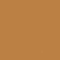 Burmese Gold paint color DE5300 #BC8143