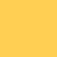 Melted Butter paint color DE5313 #FFCF53