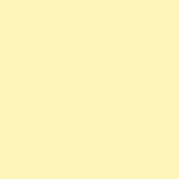 Afterglow paint color DE5345 #FFF6B9