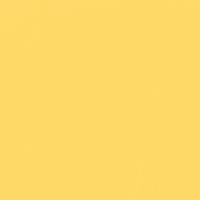 Golden Nectar paint color DE5347 #FFDA68