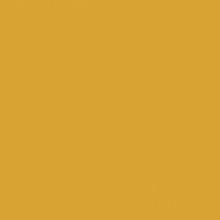 Fortune Cookie paint color DE5355 #DAA436