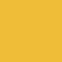 Sunflower paint color DE5391 #F0BE3A