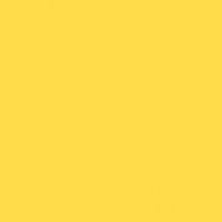 Radiant Sunrise paint color DE5397 #FFDD49