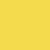 Gilded paint color DE5418 #F4DB4F