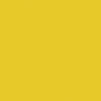 Soleil paint color DE5419 #E9CB2E