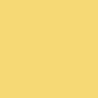 Golden Rays paint color DE5423 #F6DA74