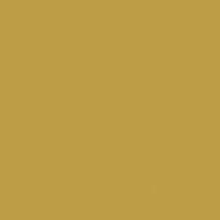 Underbrush paint color DE5446 #BE9E48