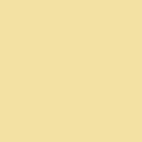 Sugar Cookie paint color DE5450 #F2E2A4