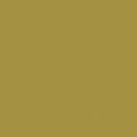 18th Century Green paint color DE5460 #A59344