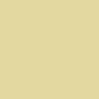 Russet Green paint color DE5485 #E3D9A0