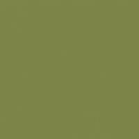 Fresh Artichoke paint color DE5545 #7C8447