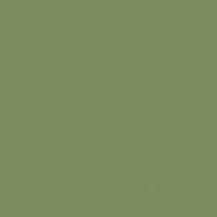 Sage Leaves paint color DE5572 #7B8B5D