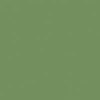 Four Leaf Clover paint color DE5593 #738F5D