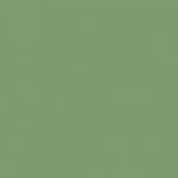 Wild Thyme paint color DE5621 #7E9C6F