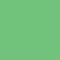 Snow Pea paint color DE5634 #6CCC7B