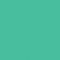 Jadeite paint color DE5683 #38C6A1