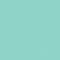 Seafoam paint color DE5695 #87E0CF