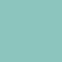 Tranquil Teal paint color DE5703 #8AC7BB