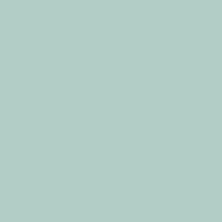 Steamy Spring paint color DE5709 #B1CFC7