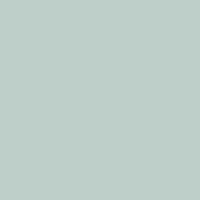 Rolling Waves paint color DE5716 #BFD1C9