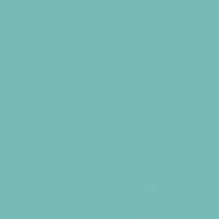 Polished Aqua paint color DE5724 #77BCB6