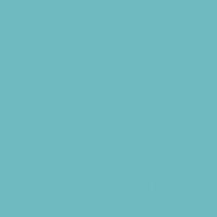 Castaway paint color DE5738 #6DBAC0