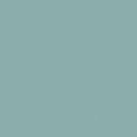Barrier Reef paint color DE5745 #8CAEAC