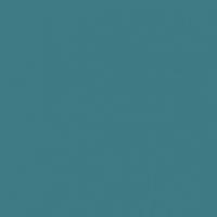 Mysterious Blue paint color DE5768 #3E7A85