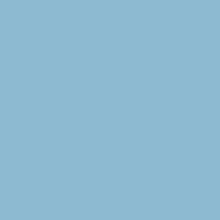 Bonnie Blue paint color DE5807 #8DBBD1