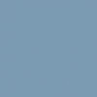 Frozen Lake paint color DE5815 #7B9CB3