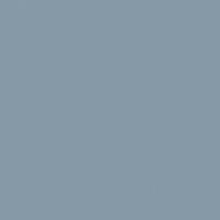 Silver Storm paint color DE5822 #8599A8