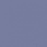 Bossa Nova Blue paint color DE5914 #767C9E