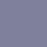 Blue Intrigue paint color DE5928 #7F809C