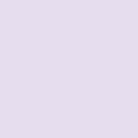 Lingering Lilac paint color DE5959 #E6DEF0