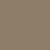Barrel Stove paint color DE6216 #8E7E67