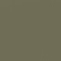 Secluded Green paint color DE6259 #6F6D56
