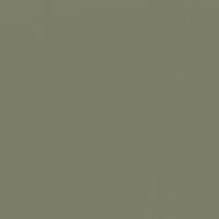 Dried Chive paint color DE6272 #7B7D69