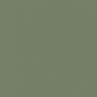 Greenland paint color DE6286 #737D6A