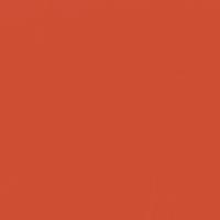Bonfire Flame paint color DEA109 #CE4E35