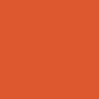 Untamed Orange paint color DEA110 #DE5730